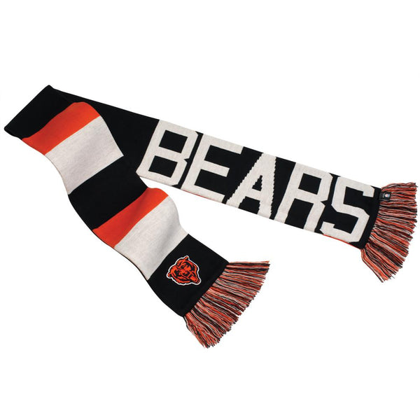 Chicago Bears - Baker Reversible Striped Knit Scarf