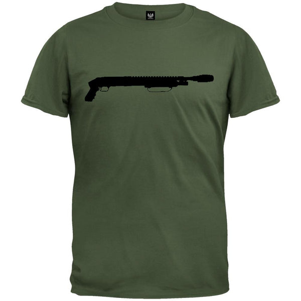 Shotguns - Mossberg Silhouette Military Green T-Shirt