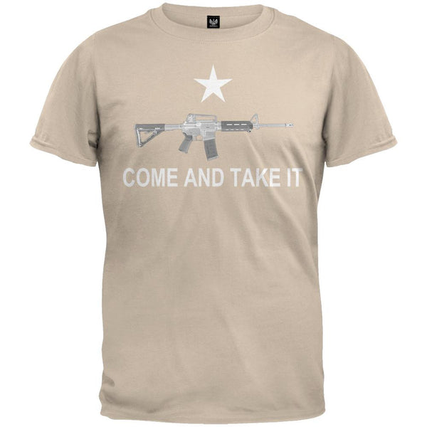 AR-15 Come And Take It Military Green T-Shirt