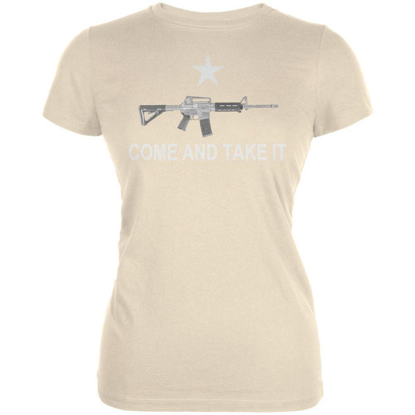 AR-15 Come And Take It Sand Juniors T-Shirt