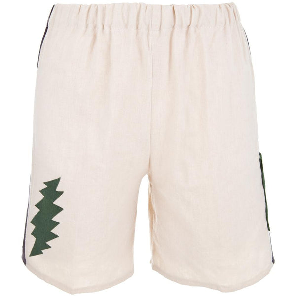 Grateful Dead - Lightning Bolt Natural Infant Shorts