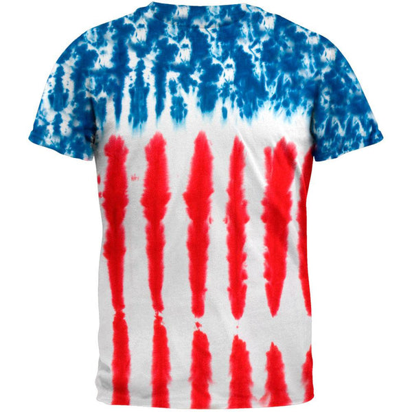 Patriotic Tie Dye Toddler T-Shirt