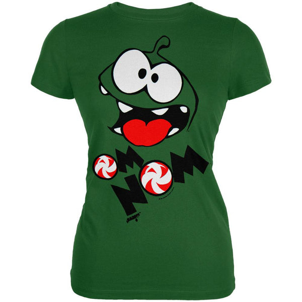 Cut The Rope - Om Nom Face Juniors T-Shirt