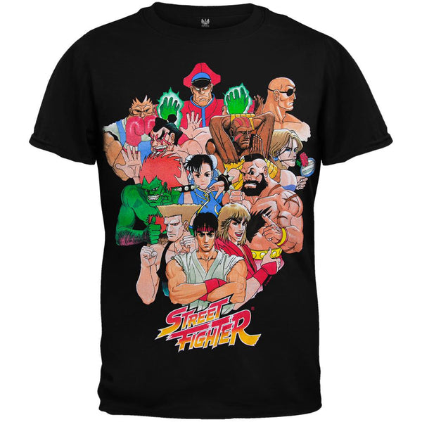 Street Fighter - Vivid Characters Youth T-Shirt