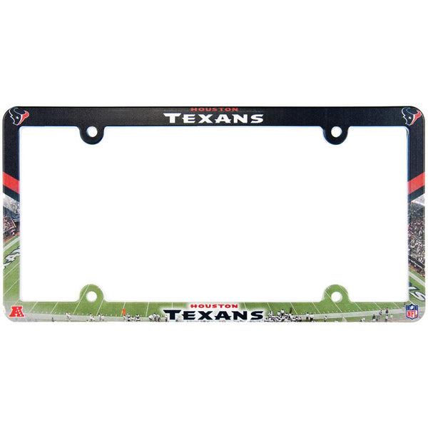 Houston Texans - Field Scene License Plate Frame
