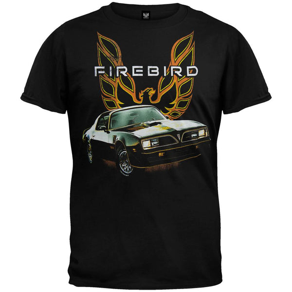 Pontiac - Firebird Retro Photoreal Soft T-Shirt