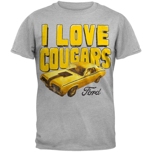 Ford - Cougars Rule Soft T-Shirt