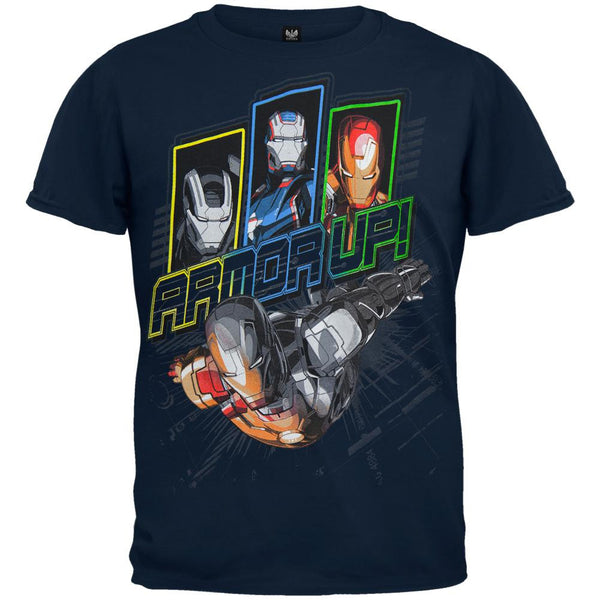 Iron Man - Chin Down Juvy T-Shirt