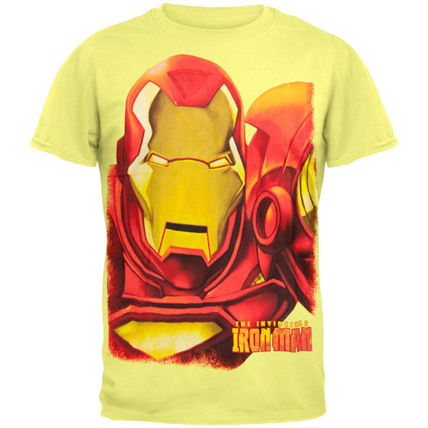 Iron Man - Huge Iron Face T-Shirt