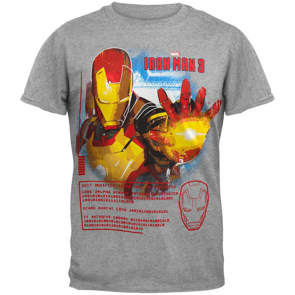 Iron Man - Tech Head Youth T-Shirt