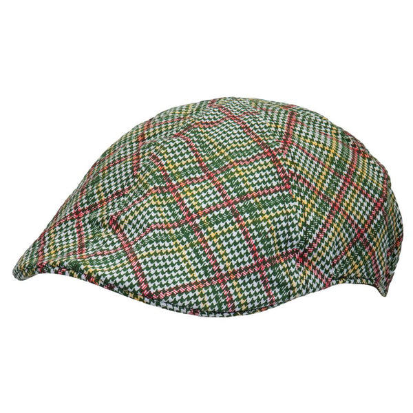 Bob Marley - Plaid Rasta Driving Cap