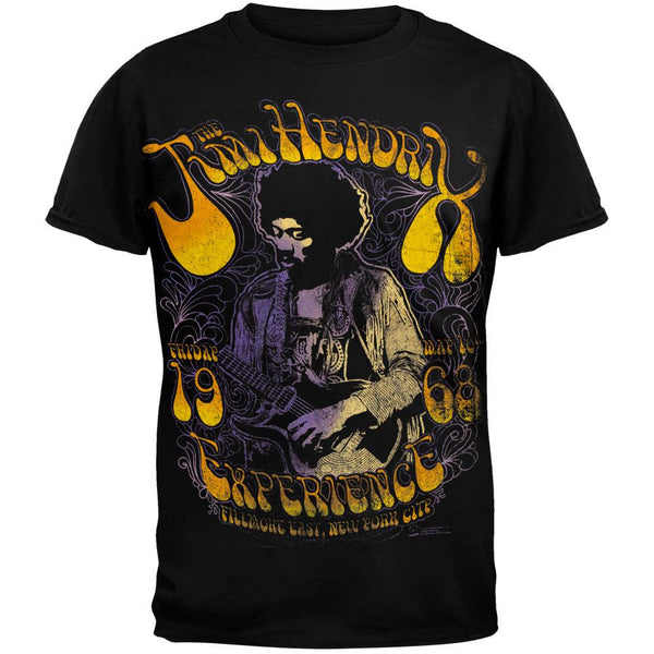 Jimi Hendrix - Fillmore 1968 In Color T-Shirt
