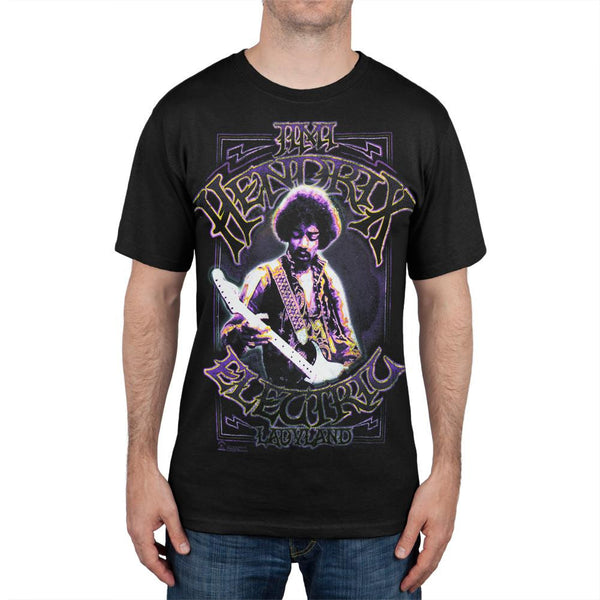 Jimi Hendrix - Electric Purple T-Shirt