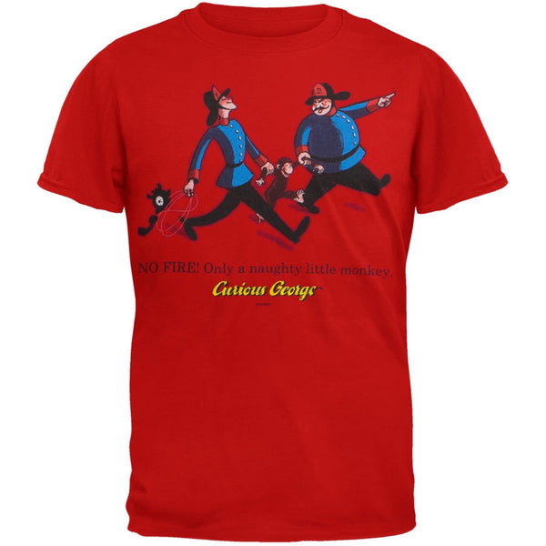 Curious George - Fireman Youth T-Shirt