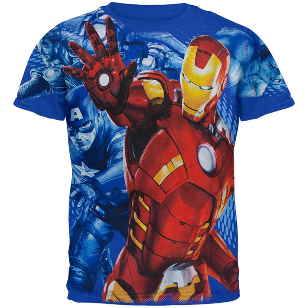 Avengers - Repulsor Blast Youth T-Shirt