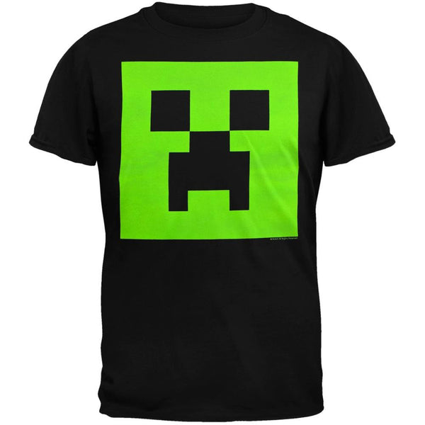 Minecraft - Creeper Glow Youth T-Shirt