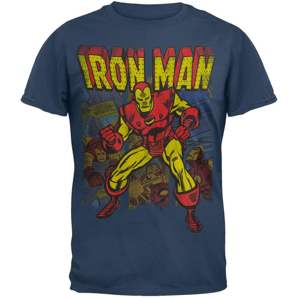 Iron Man - Iron Panes Soft T-Shirt