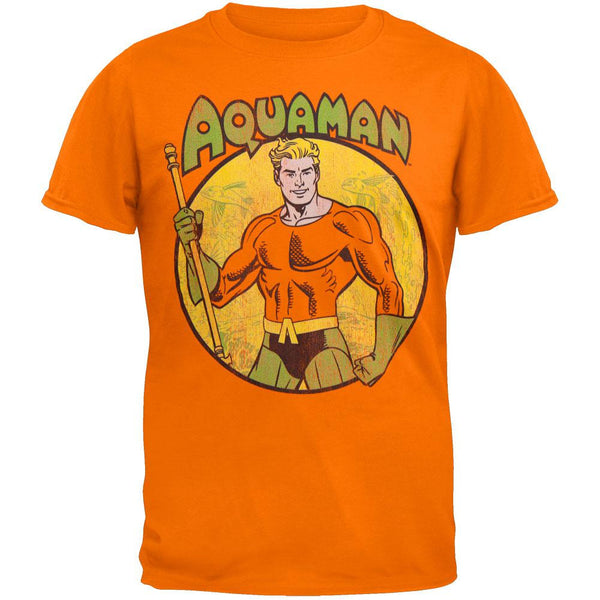 Aquaman- Circle Portrait Youth T-Shirt
