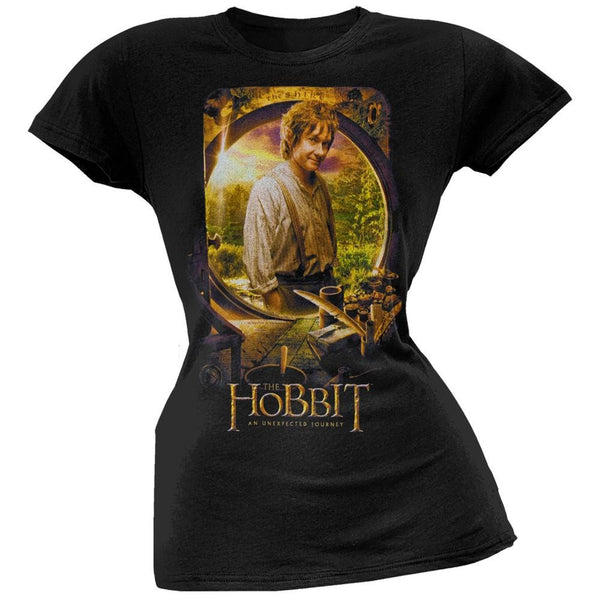 The Hobbit - Bilbo Poster Juniors T-Shirt