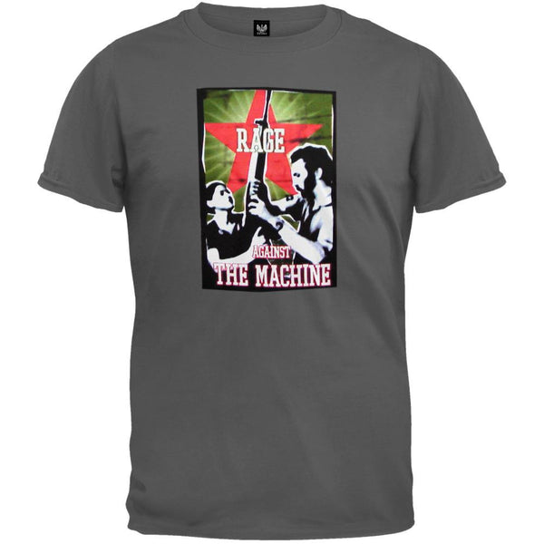 Rage Against The Machine - Rise Charcoal T-Shirt