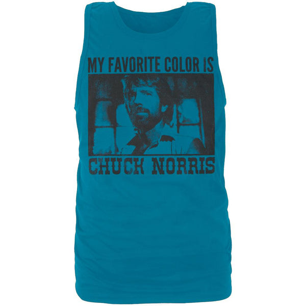 Chuck Norris - My Favorite Color Tank Top
