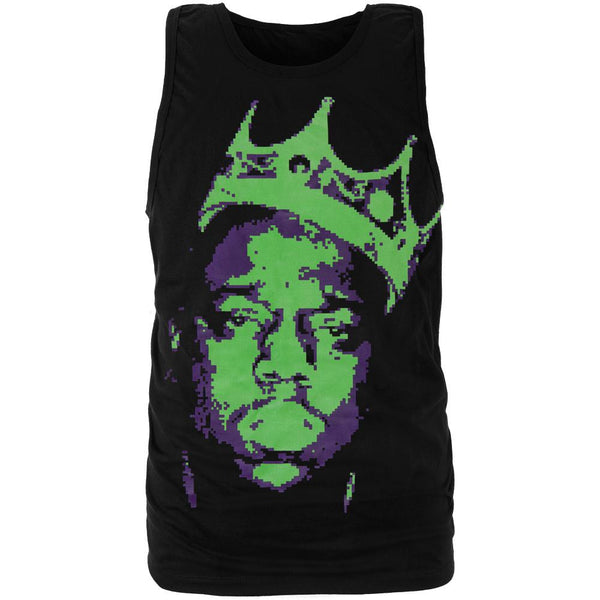 Notorious B.I.G. - Neon Crown Tank Top