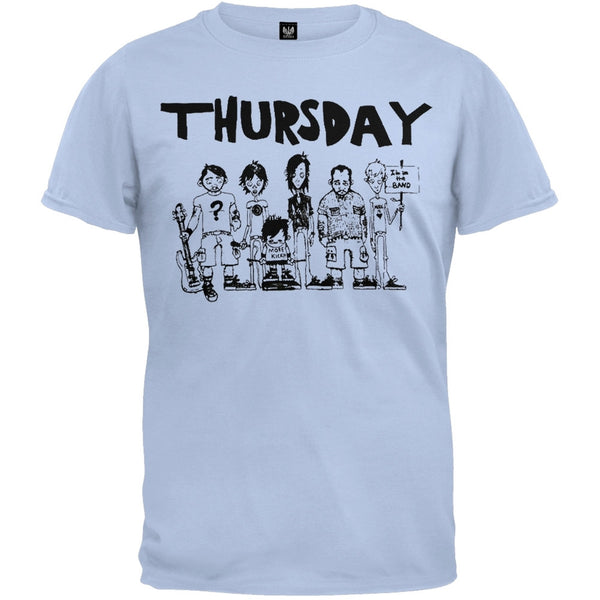 Thursday - Band Drawing Youth T-Shirt