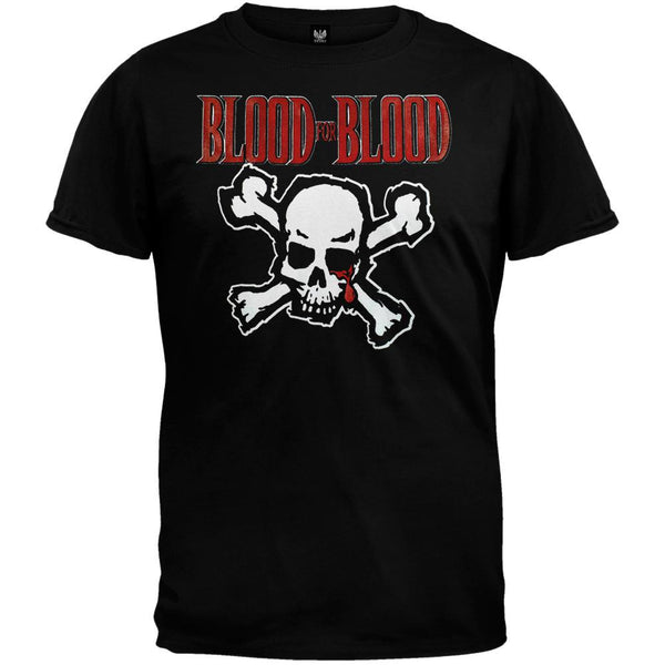 Blood For Blood - Skull Youth T-Shirt
