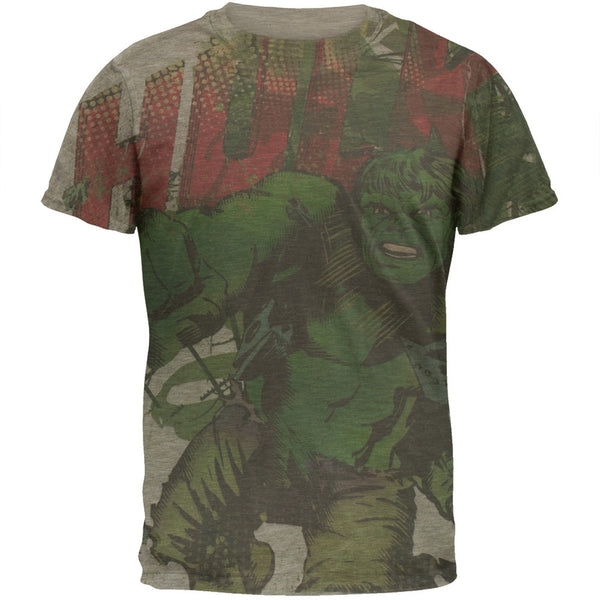 Incredible Hulk - Charge All-over Soft T-Shirt