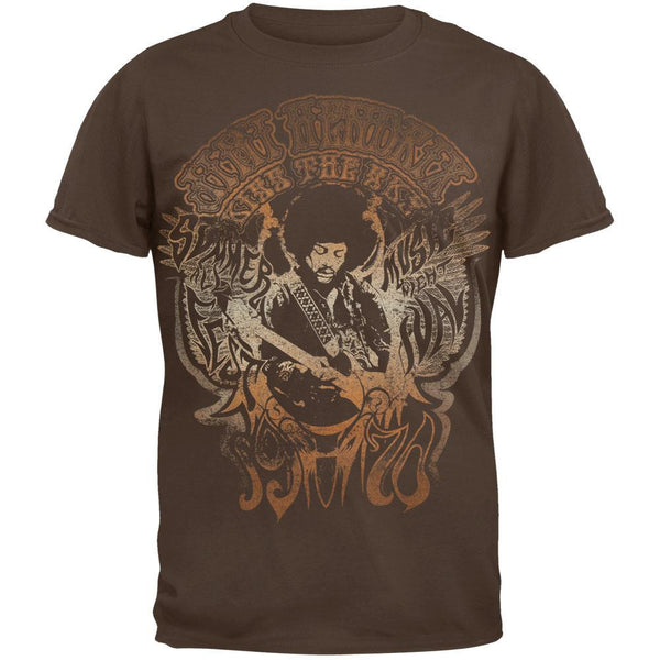 Jimi Hendrix - Kiss the Sky Soft T-Shirt