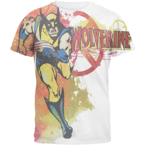 Wolverine - Running Logo All-Over Soft T-Shirt