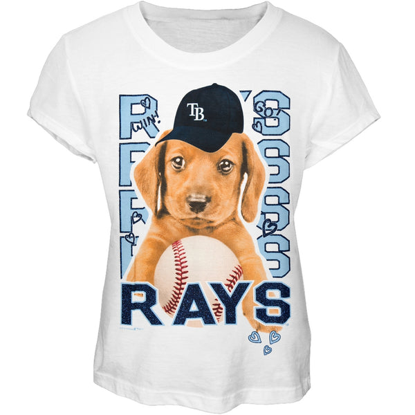 Tampa Bay Rays - Puppy Dog Girls Juvy T-Shirt
