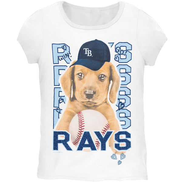 Tampa Bay Rays - Puppy Dog Girls Youth T-Shirt