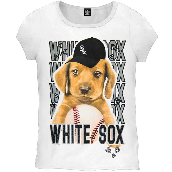 Chicago White Sox - Puppy Dog Girls Juvy T-Shirt