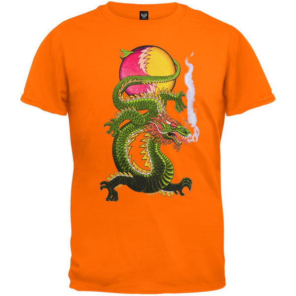 Grateful Dead - Lightning Bolt Dragon SYF Tangerine Youth T-Shirt