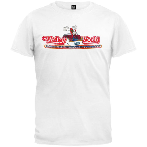 National Lampoon Vacation - Walley World Roller Coaster Soft T-Shirt