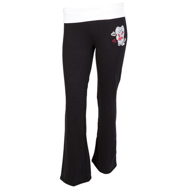 Alabama Crimson Tide -  Glitter Logo Cheer Girls Youth Yoga Pants
