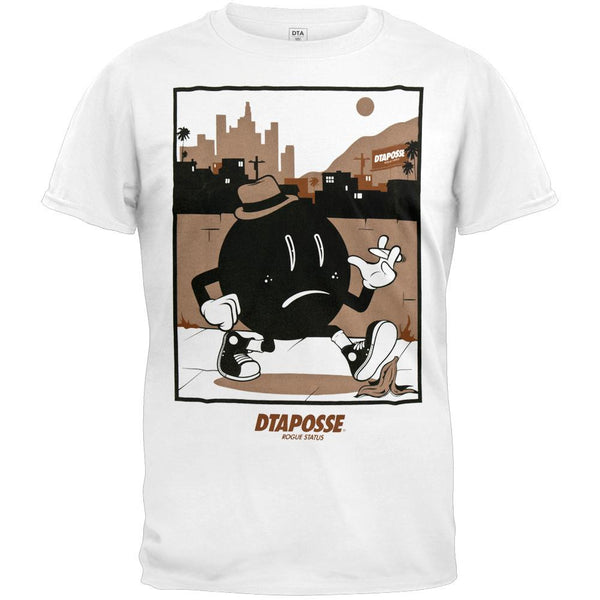 DTA - Comic Shot White Adult T-Shirt