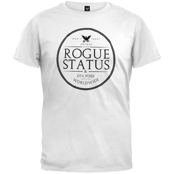 DTA - Rogue Status Label White T-Shirt