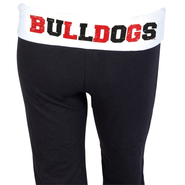 Georgia Bulldogs - Glitter Logo Cheer Girls Youth Sweatpants