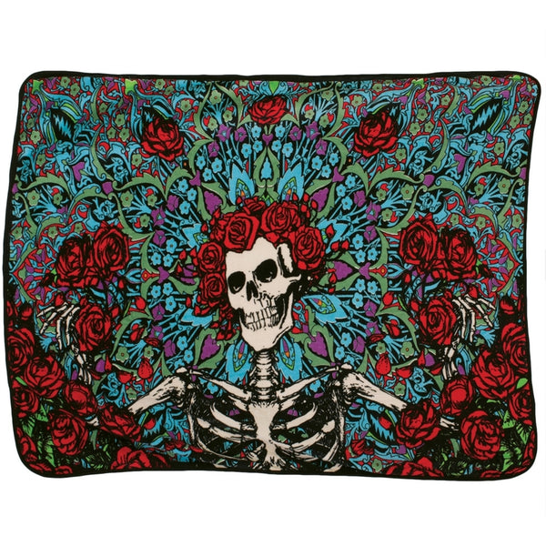 Grateful Dead - Psychedelic Bertha Fleece Blanket