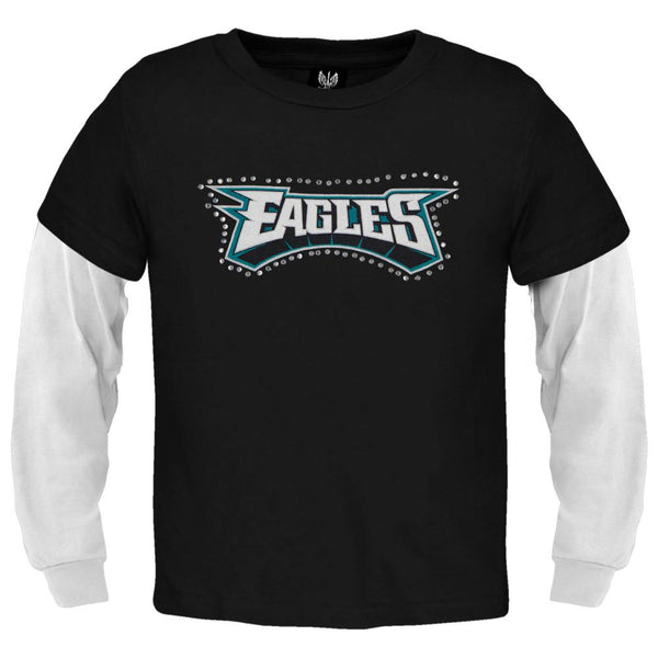 Philadelphia Eagles - Jewel Team Name Girls Youth 2fer
