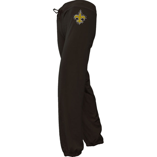 New Orleans Saints - Jewel Logo Girls Juvy Sweatpants