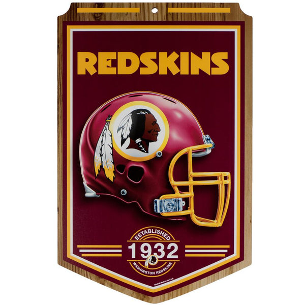 Washington Redskins - Established 1932 Wood Sign