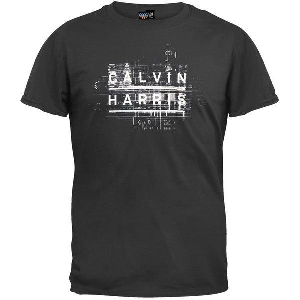 Calvin Harris - Name Logo Soft T-Shirt