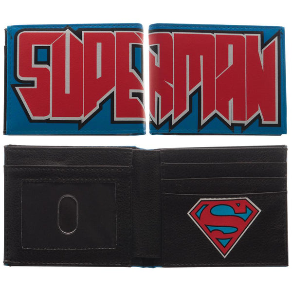 Superman - Block Logo Bifold Wallet