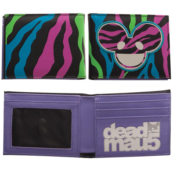 Deadmau5 - Animal Stripes Bifold Wallet