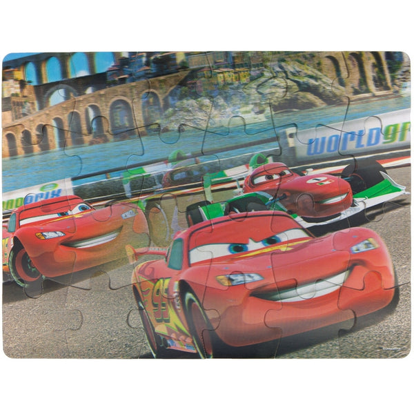 Cars - Speeding 24-Piece Lenticular Puzzle