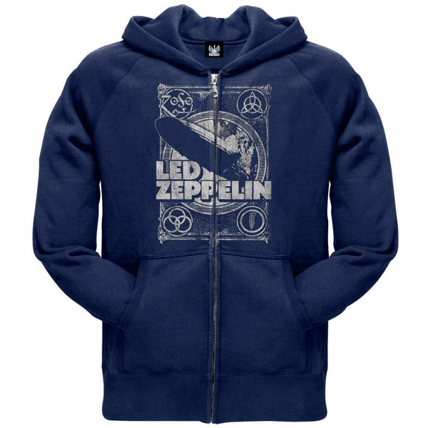 Led Zeppelin - You Shook Me Zip Hoodie