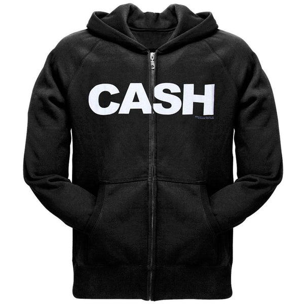 Johnny Cash - Block Logo Pullover Hoodie
